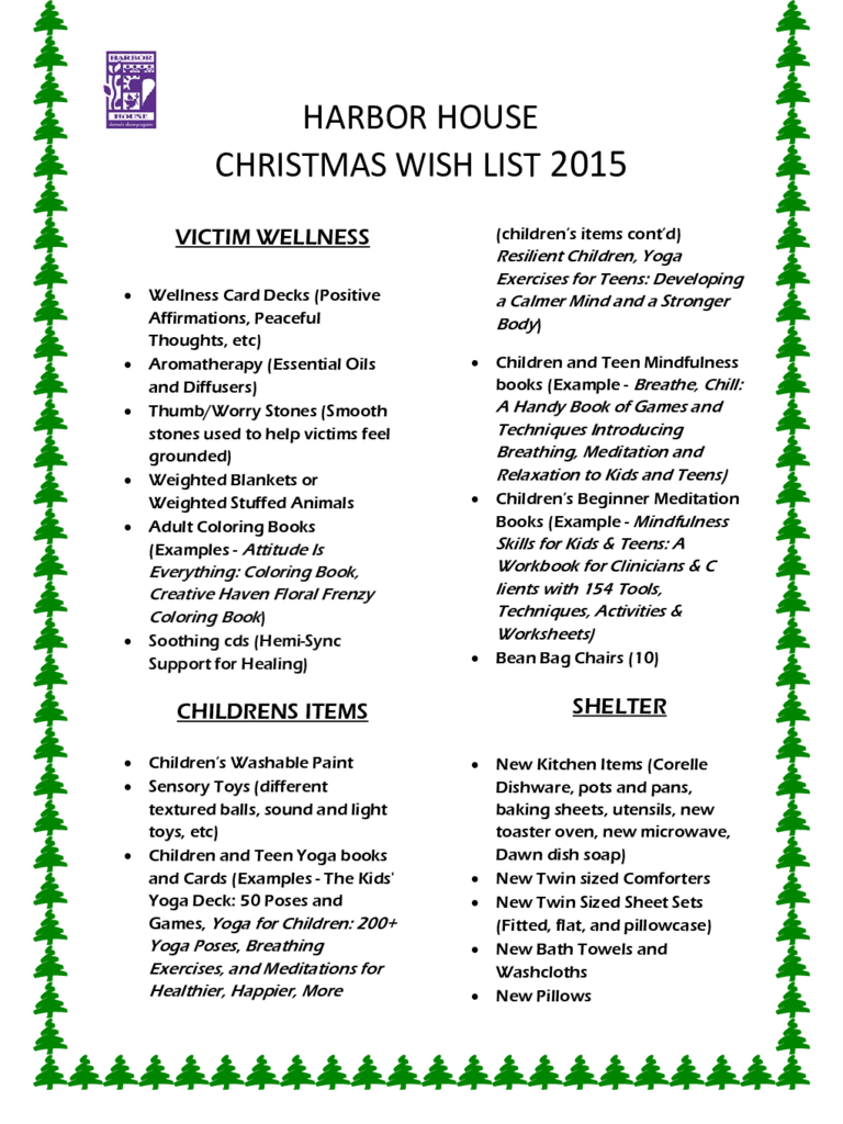 Christmas Wish List Template 8 Free Templates In PDF Word Excel Download