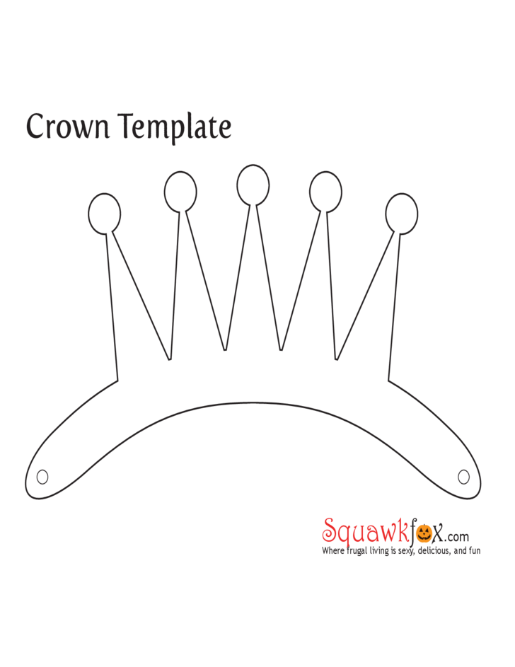 Sample of Crown Template Free Download