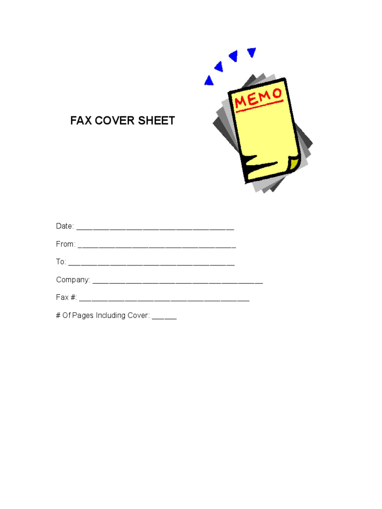 Cute Fax Cover Sheet  1 Free Templates in PDF Word Excel Download