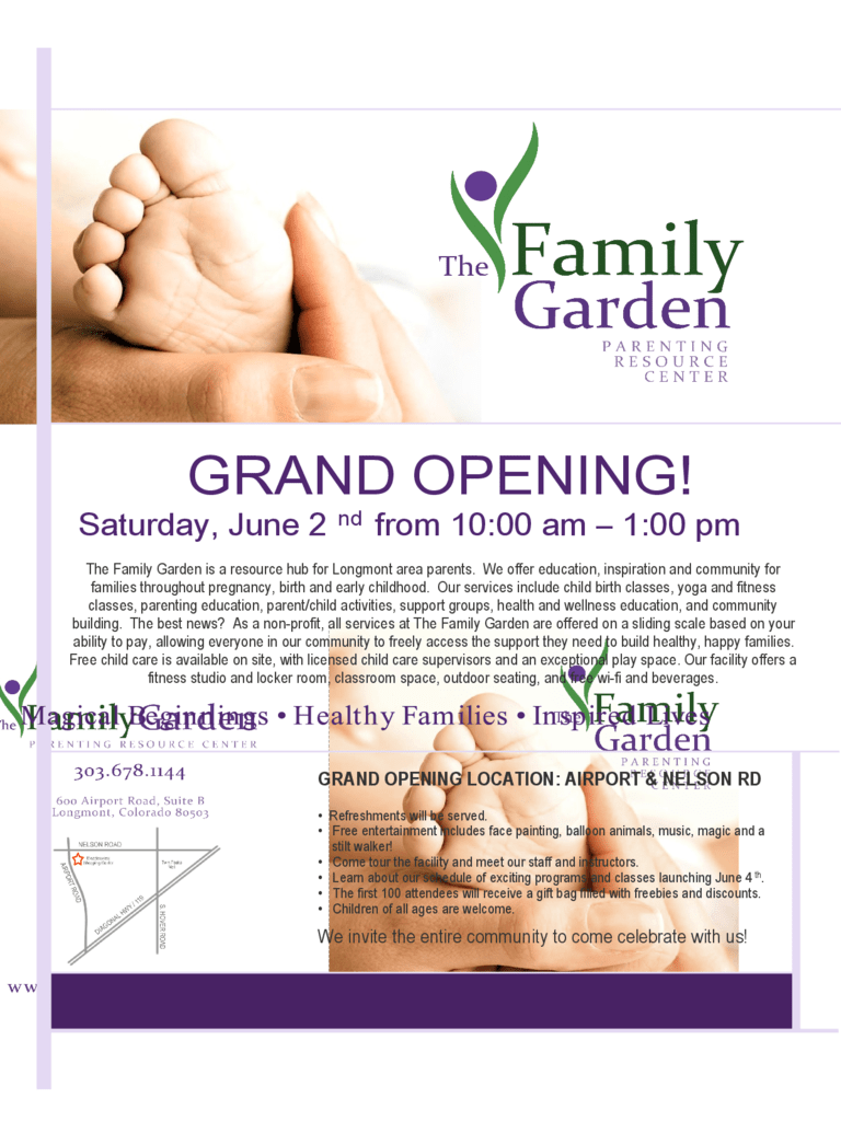 Grand Opening Flyer 5 Free Templates In PDF Word Excel