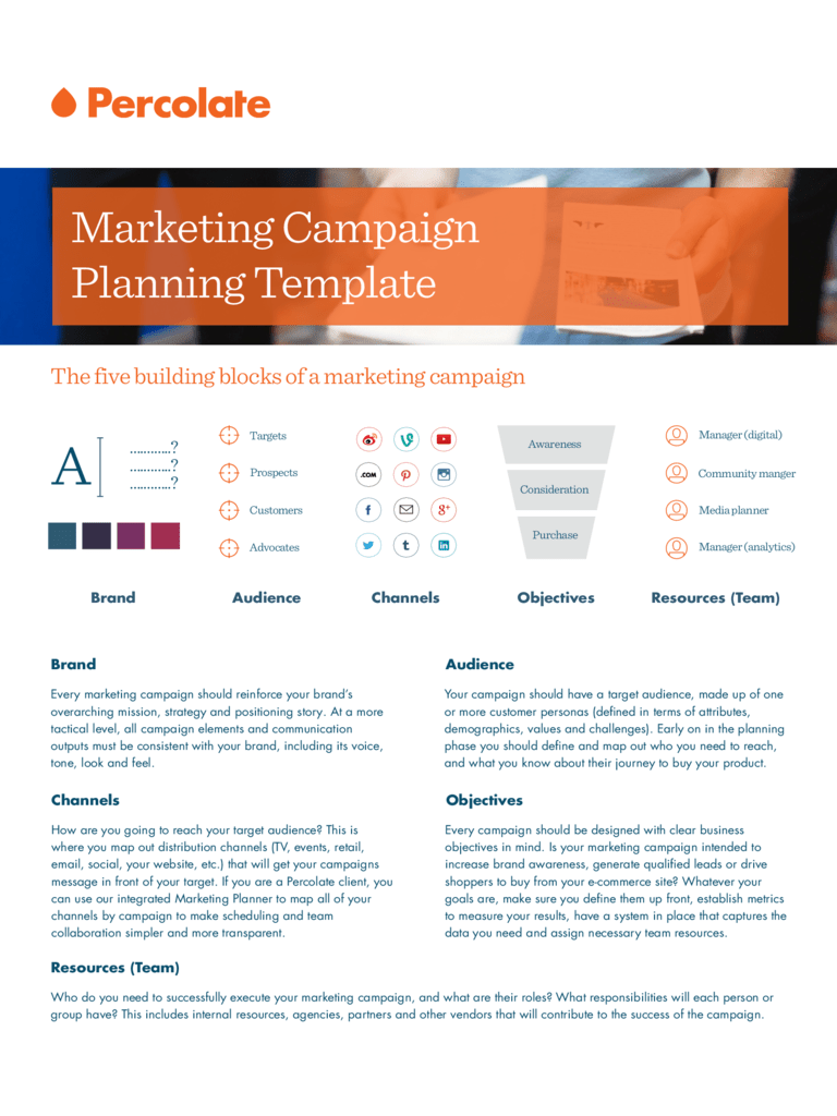 Marketing Campaign Template 2 Free Templates In PDF
