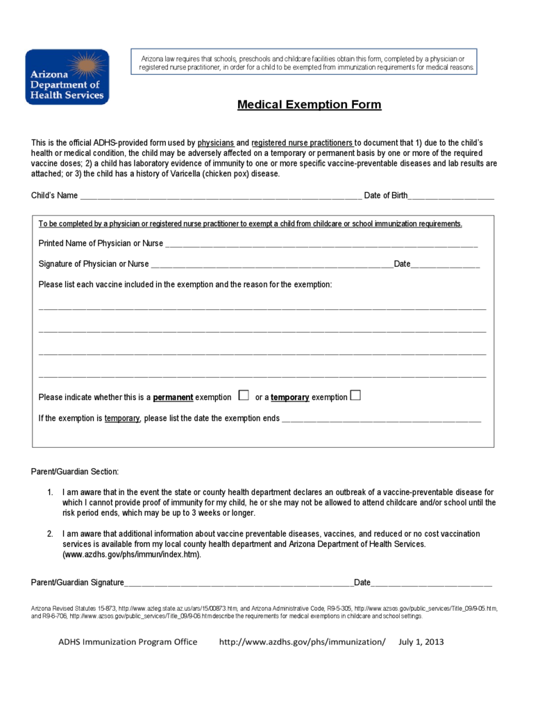Vaccination certificate solutions, at the risk of compromising ethical and data. Medical Exemption Form - 2 Free Templates in PDF, Word
