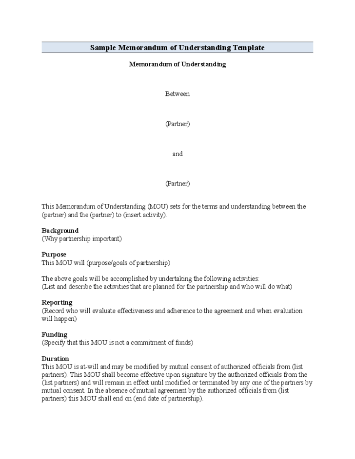 memorandum download