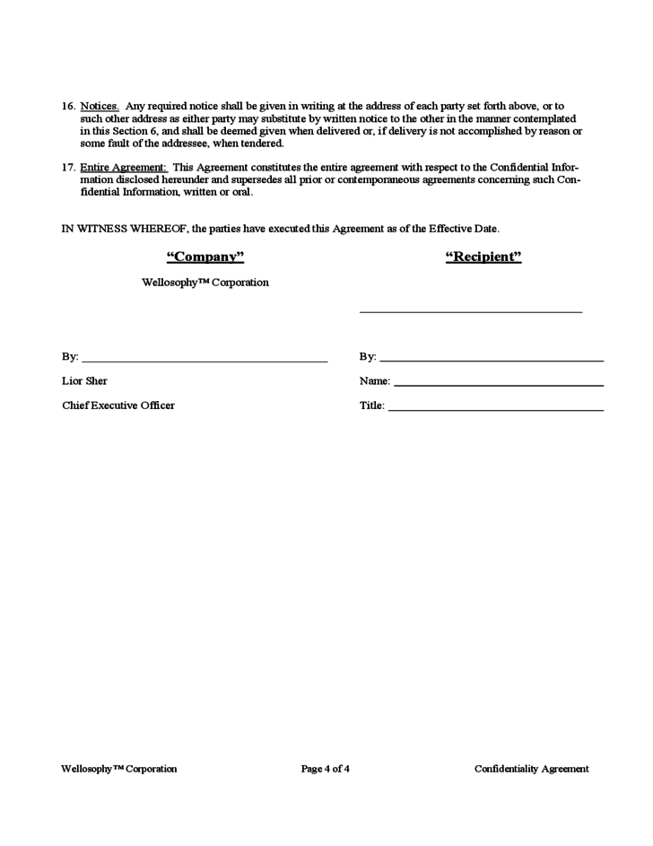 This download confidentiality and non compete agreement template covers the most important subjects and will help you to structure and communicate in a professional and legal way with those involved. Confidentiality And Non Compete Agreement Template Free Download