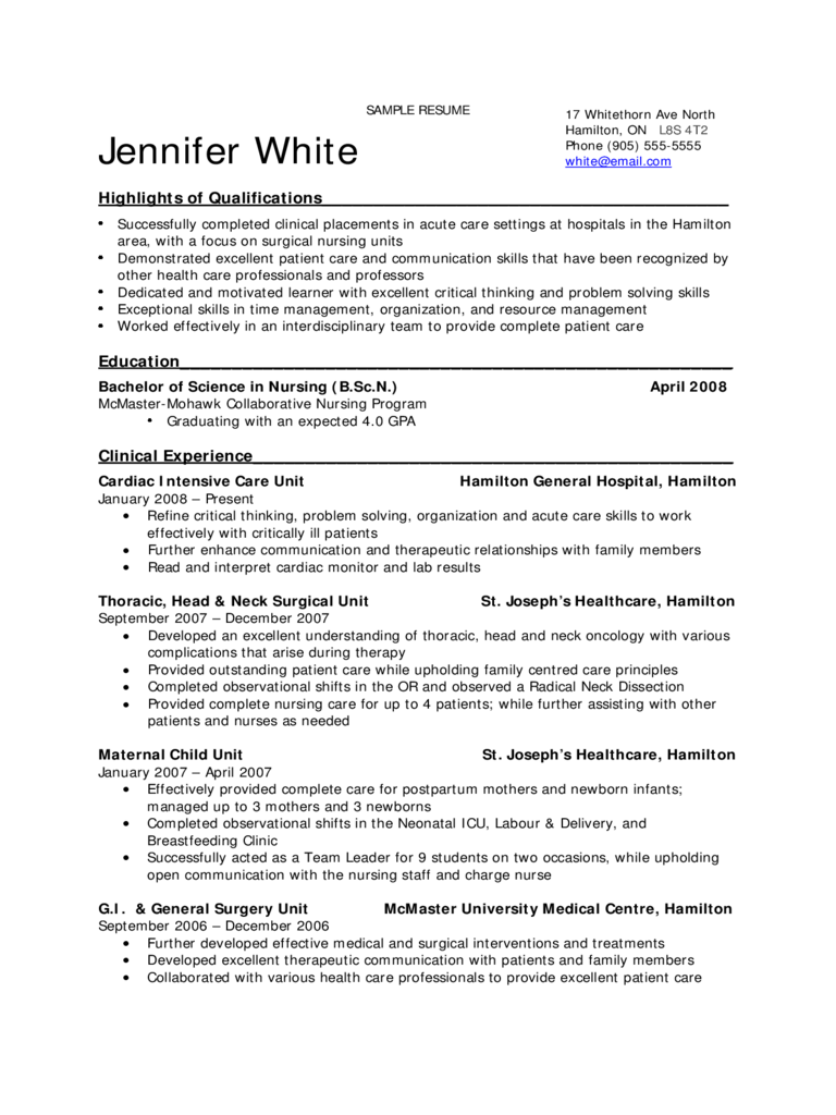 sle resume for student 28 images respiratory therapist