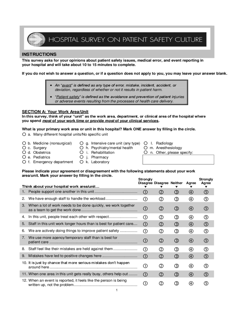 Patient Feedback Form  3 Free Templates in PDF Word Excel Download