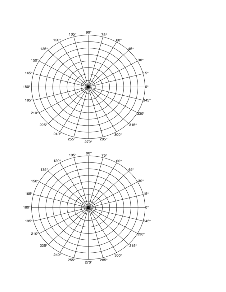 Polar Coordinate Graph Paper Free Download