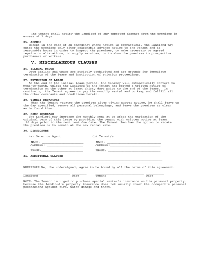 Landlord Lease Termination Letter Virginia Lettercard