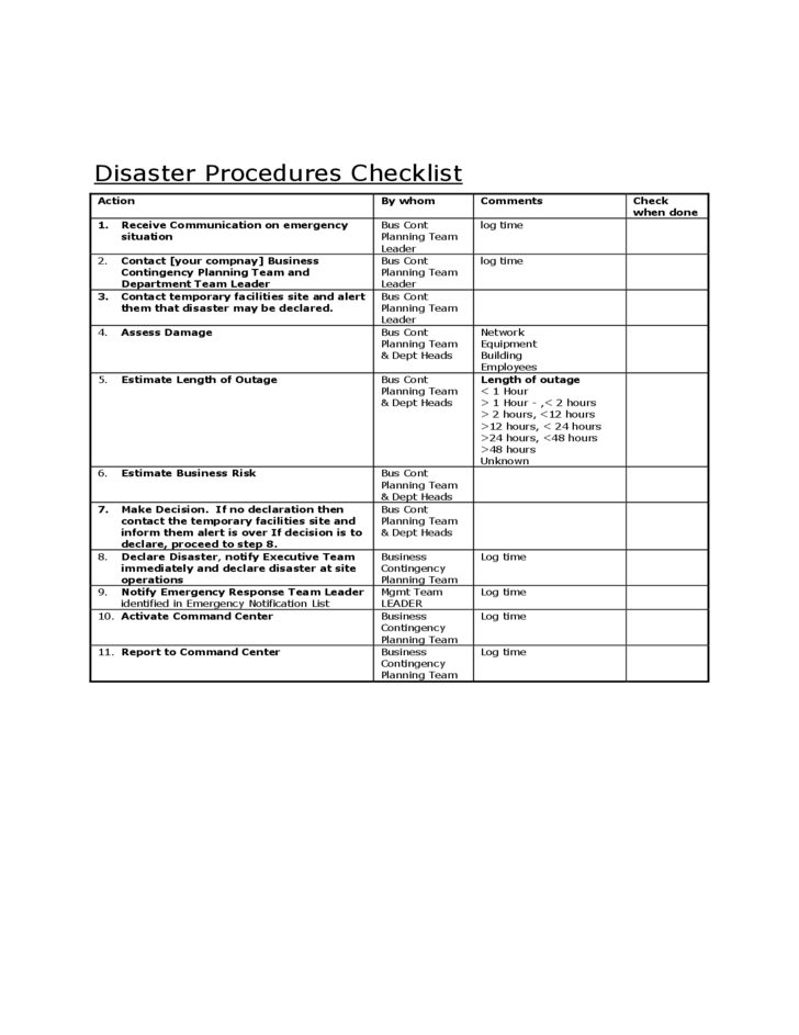 sample resume business continuity