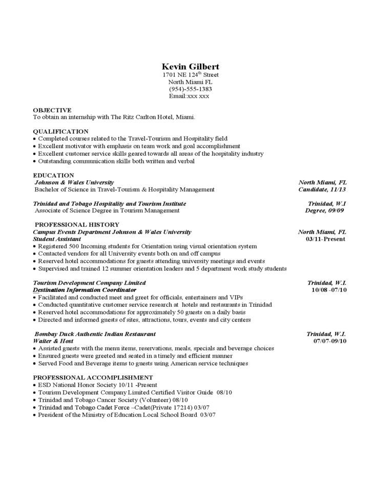 International Student Resume And CV Examples Free Download