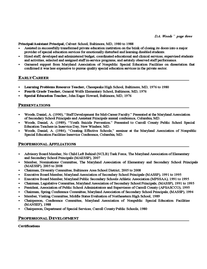ses resume template