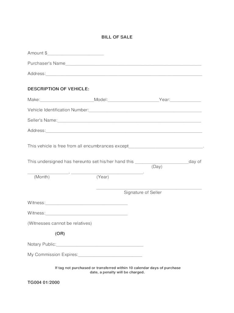 Alabama Bill Of Sale Form Free Templates In PDF Word Excel To Print