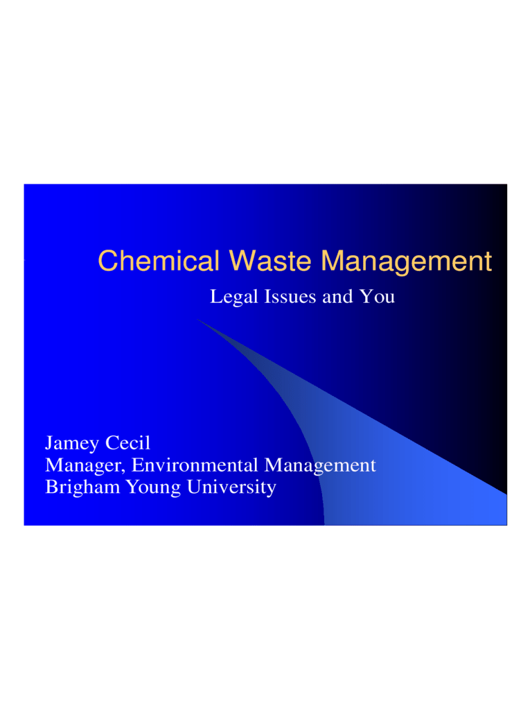 Waste Management PPT 4 Free Templates In PDF Word