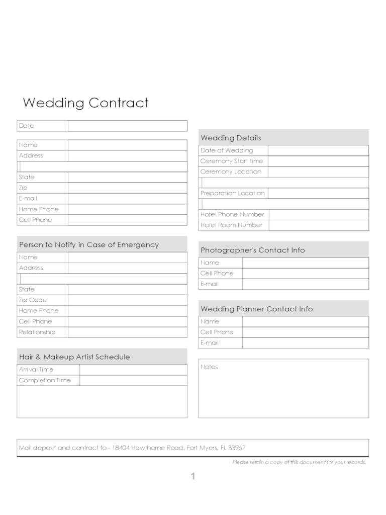 blank venn diagram word document jayco trailer plug wiring wedding contract template - 2 free templates in pdf, word, excel download