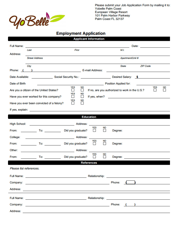Chipotle Form Order Pdf