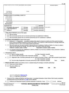 California Legal Forms