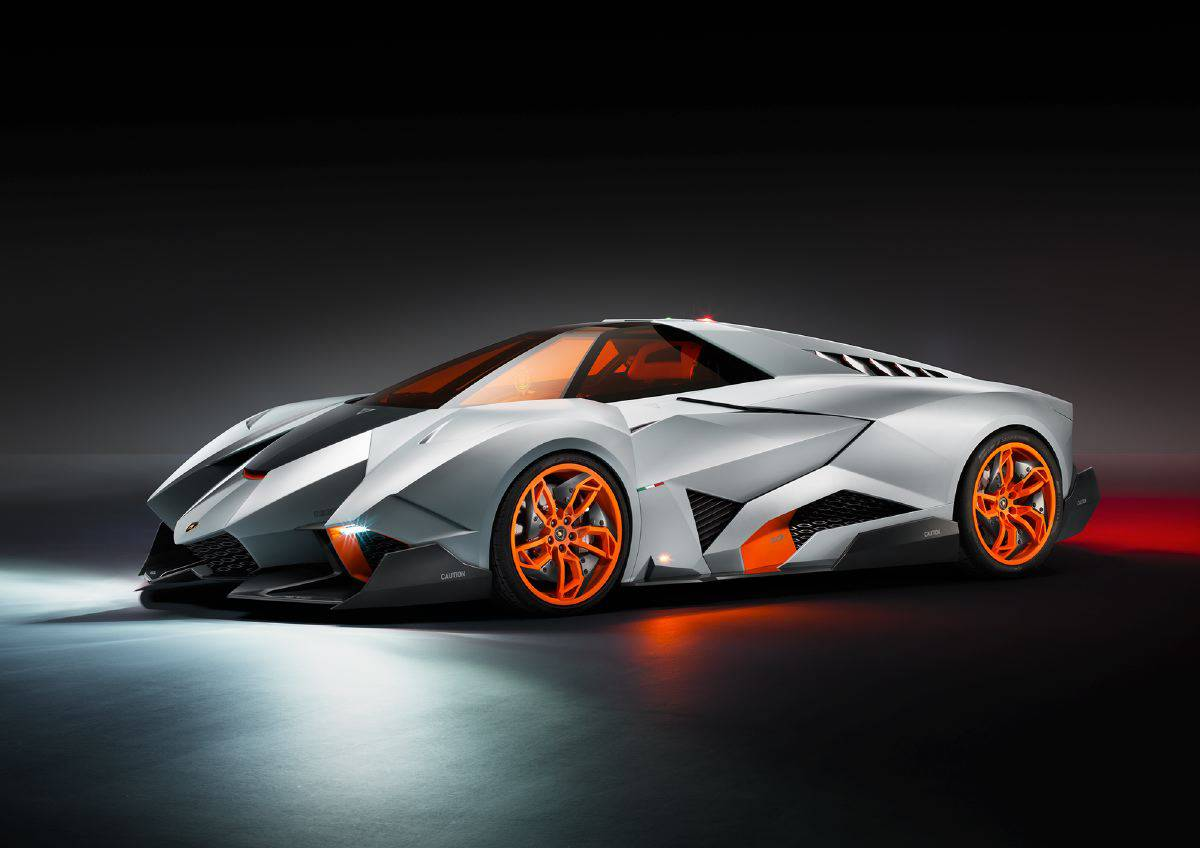 Lamborghini Egoista The Aesthetics Of Irrelevance