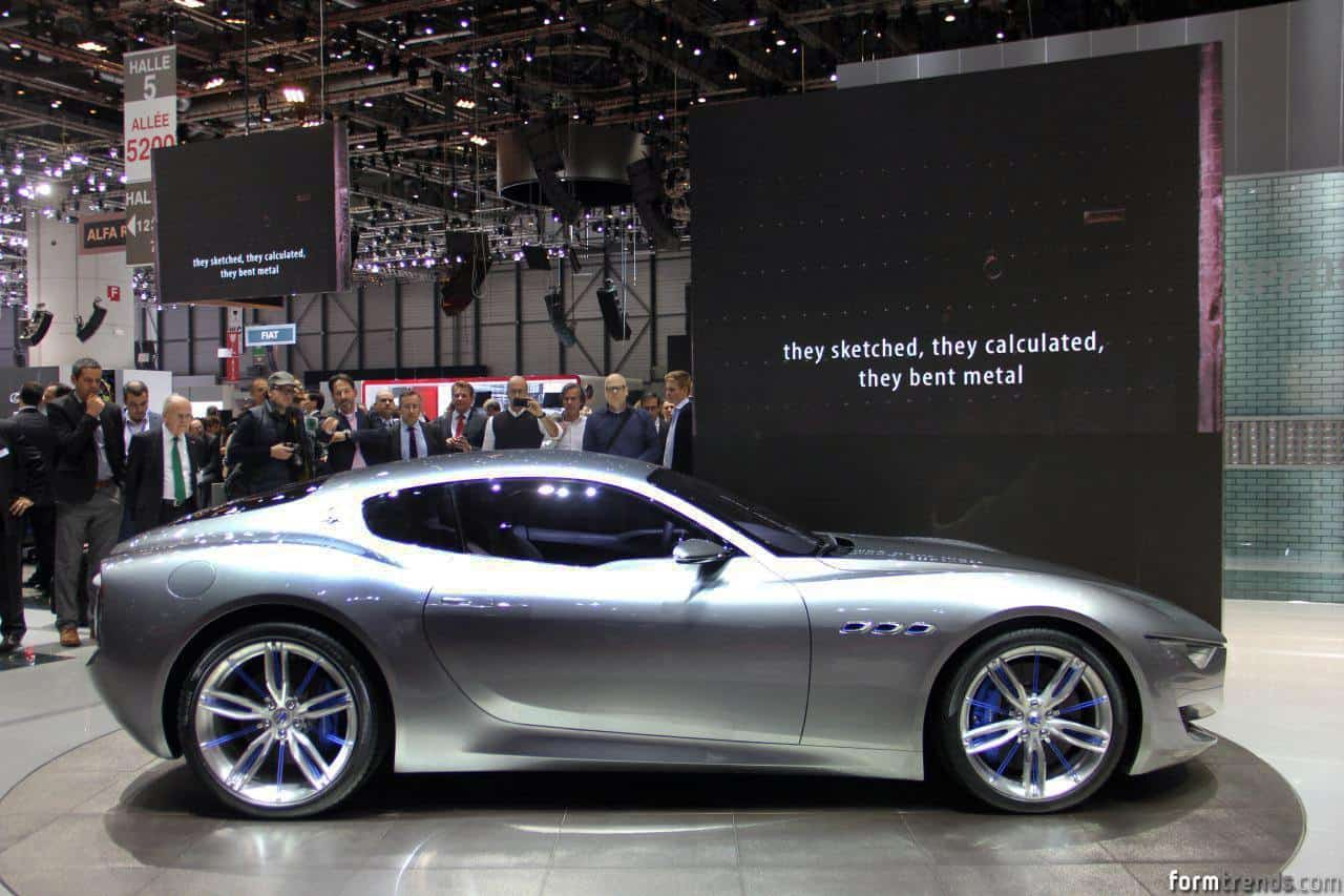 Maserati Alfieri Concept Previews New Halo Model