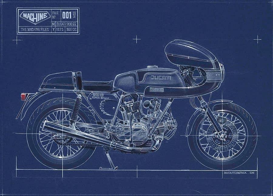 Bryon Fitzpatrick Man Legend Drawing Machine
