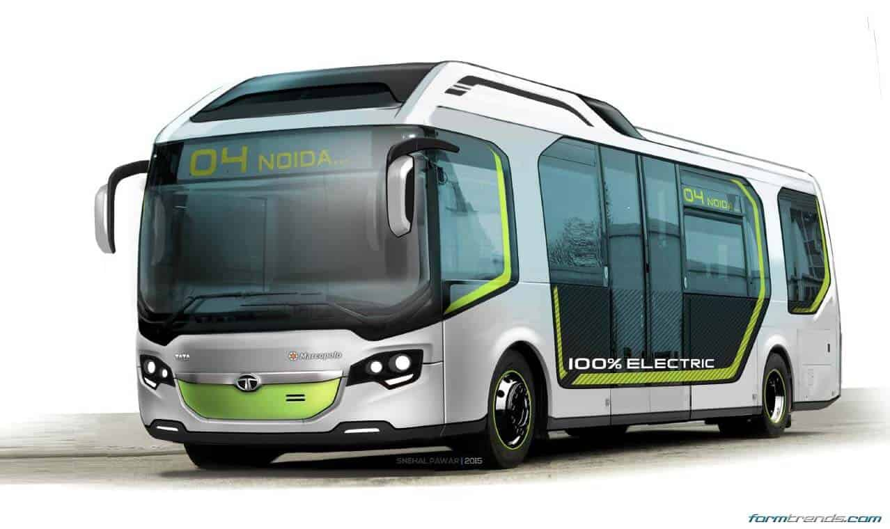 Tata Ultra Electric Bus Concept Looks to Future of Public ...