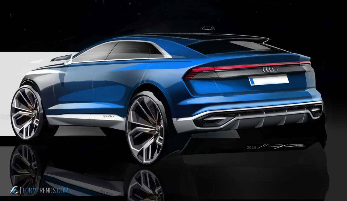 2016 Audi Q8 >> Design Story A Look Into The Creation Of The Audi Q8 Concept