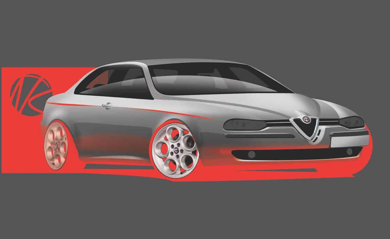 revisiting the iconic alfa romeo 156 design walter 39 s masterpiece. Black Bedroom Furniture Sets. Home Design Ideas