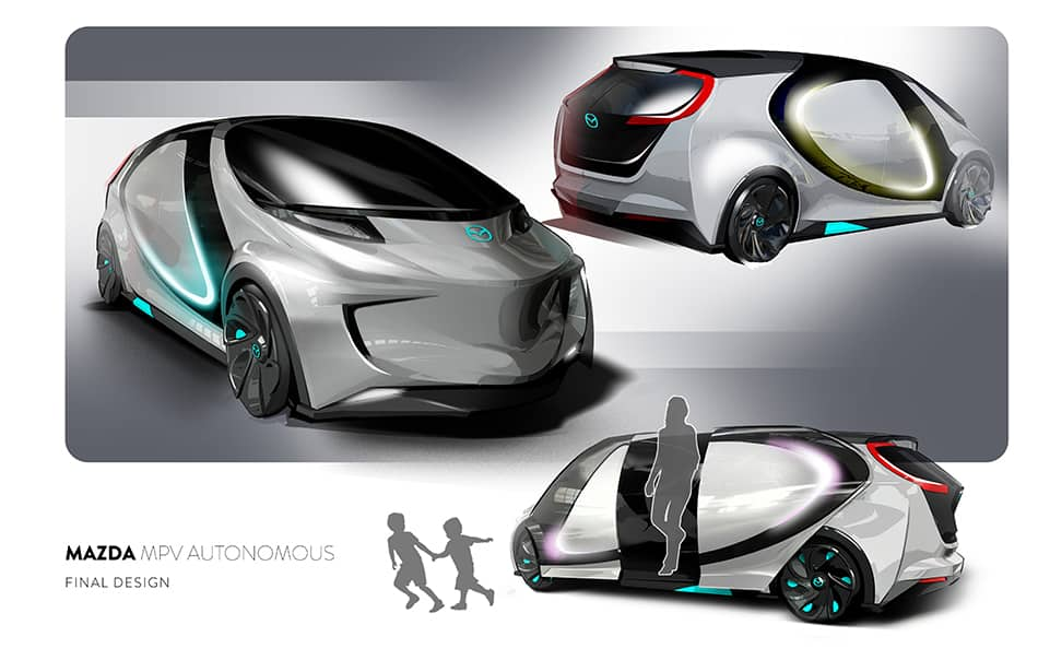 Three Vehicle Design Projects by Art Center Grad John Mark