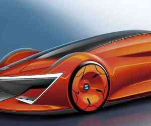 SEAT E-Mocion concept rendering by Iñigo Onieva
