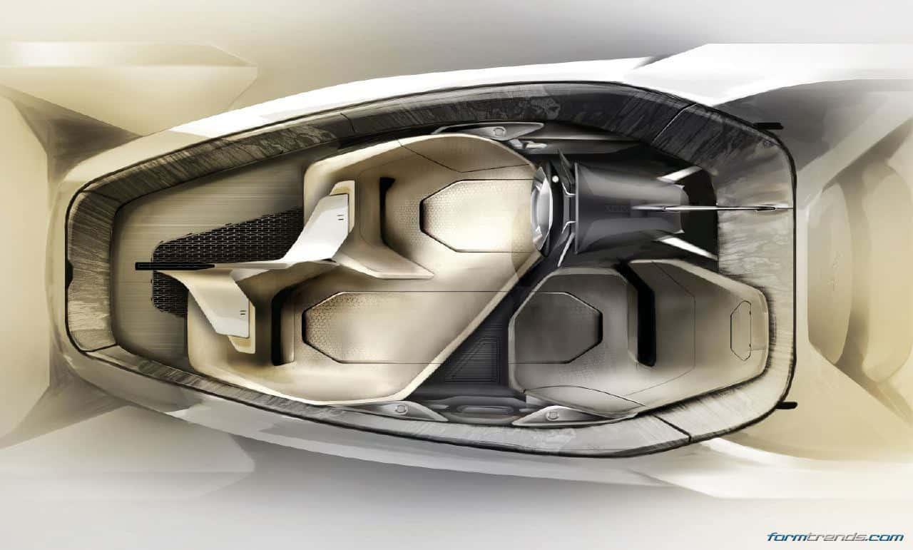 Terrific Jaguar Looks Out To 2040 With Autonomous Future Type Concept Interior Design Ideas Tzicisoteloinfo