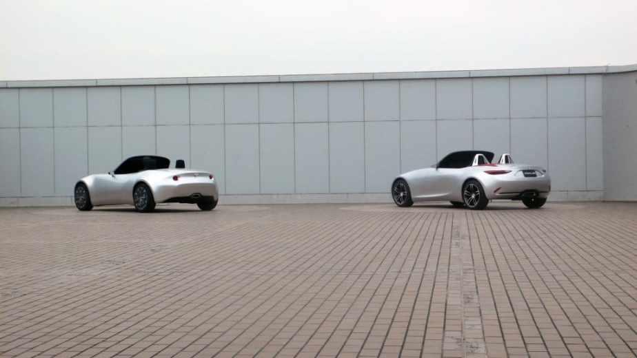 Mazda MX-5 ND design proposals
