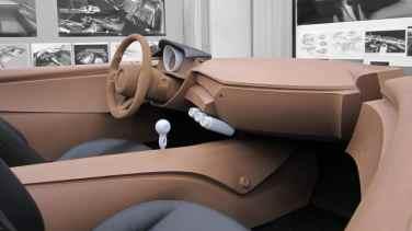 Clay model of the Mazda MX-5 interior