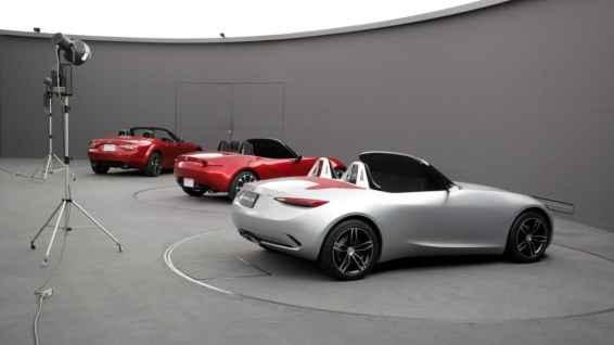 Mazda MX-5 ND chosen model, alternate and predecessor