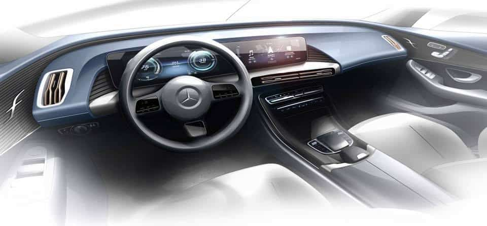 Mercedes Benz Reveals First New Eq Model
