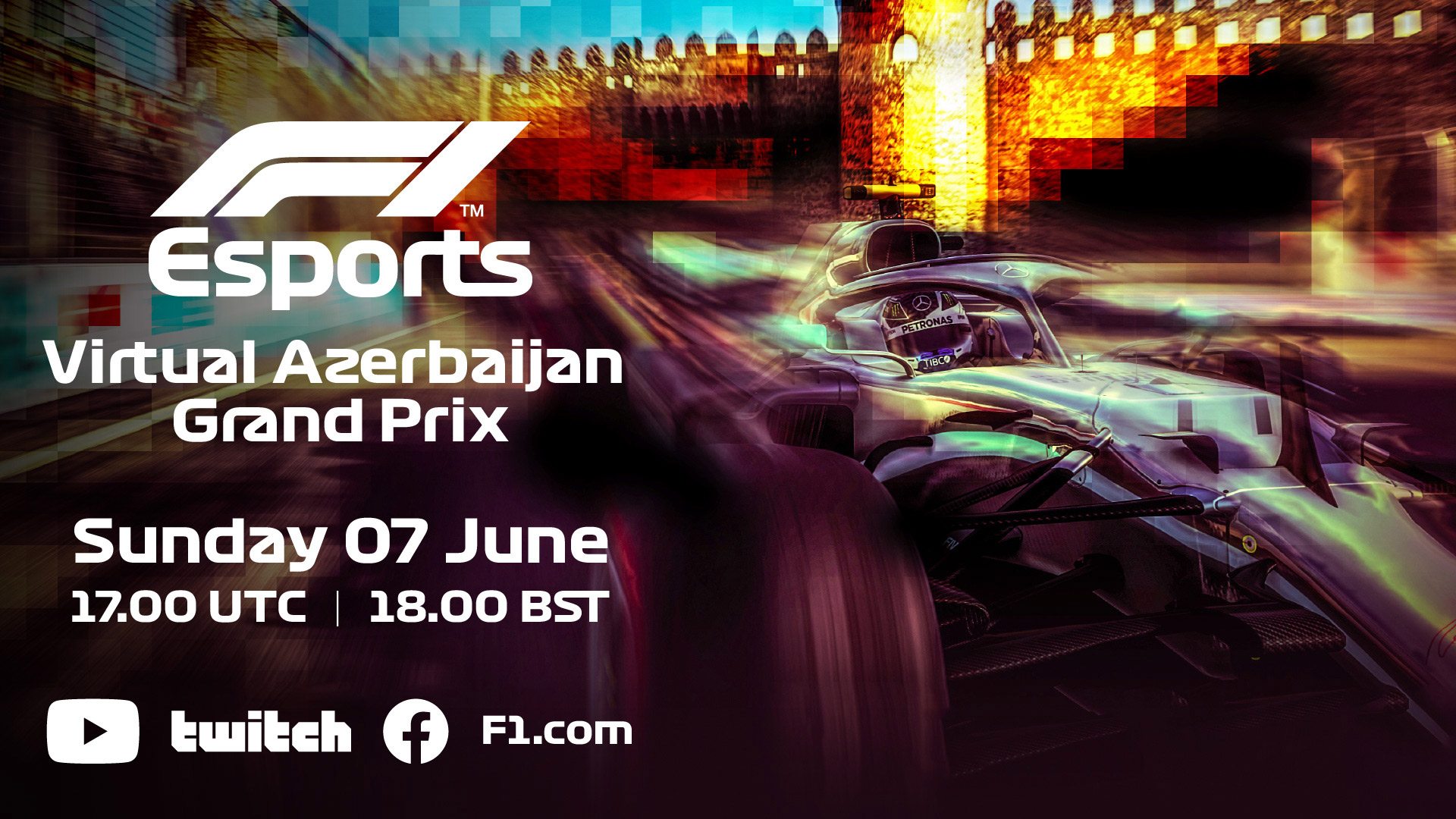 Virtual Azerbaijan Grand Prix: How and when to watch