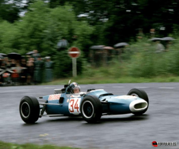 Jean Pierre Beltoise ganó en la Categoría F-2. GP Alemania 1966