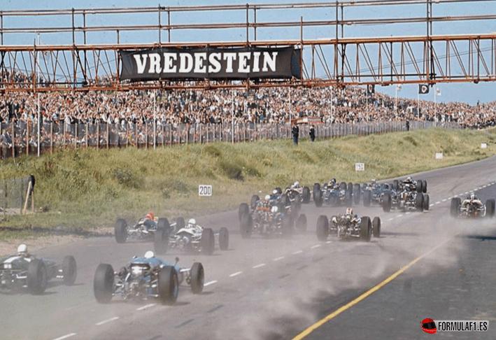 Salida GP Holanda 1966
