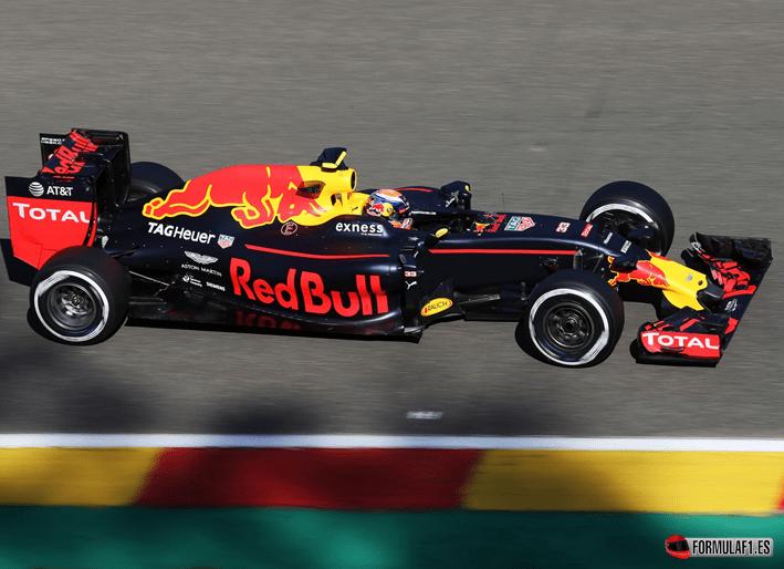 Verstappen consigue el mejor tiempo en Libres-2. GP de Bélgica 2016