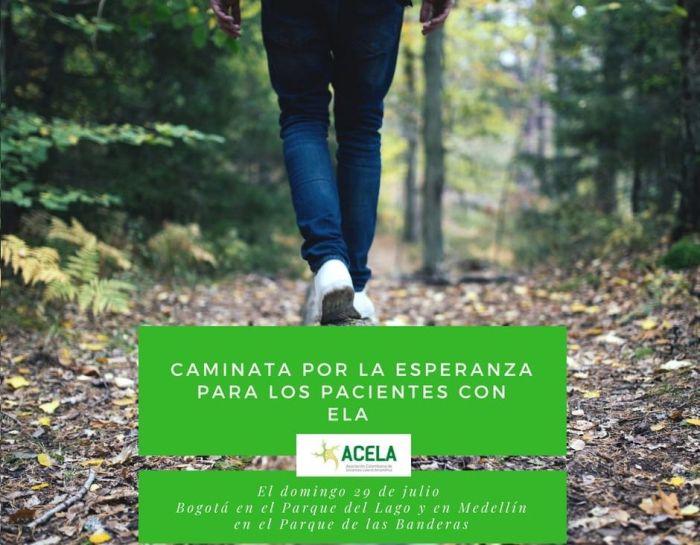 Caminata por los pacientes con ELA - Formula Medica