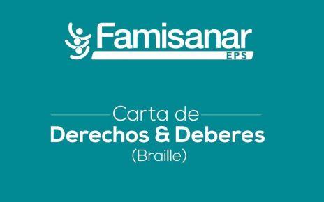 EPS Famisanar distribuye su primera publicación en lenguaje Braille - Formula Medica