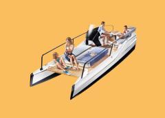 Nasce TimeSquare 20, il primo catamarano elettrico Frauscher