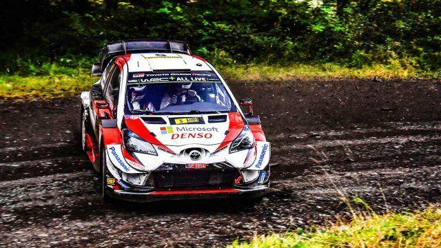 Toyota manda en el primer dia del Rally de Gales