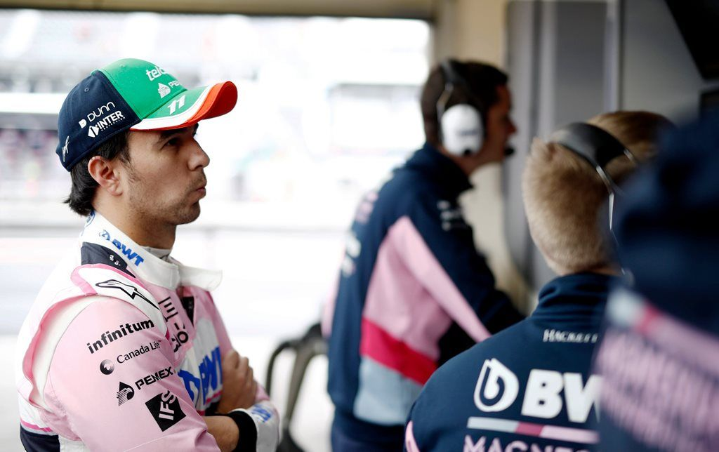 Racing Point: Bandera Roja P1 GP de México