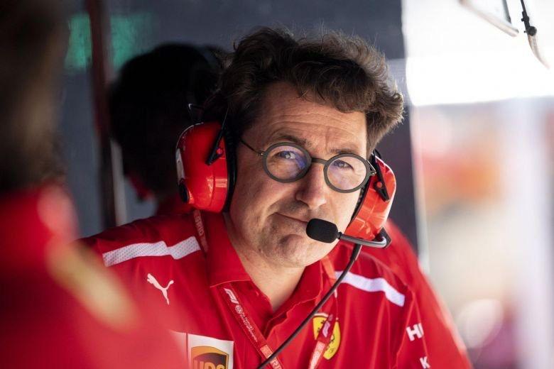 """Mattia Binotto: """"Sobre lo que paso en Brasil, cada piloto su punto de vista"""""""