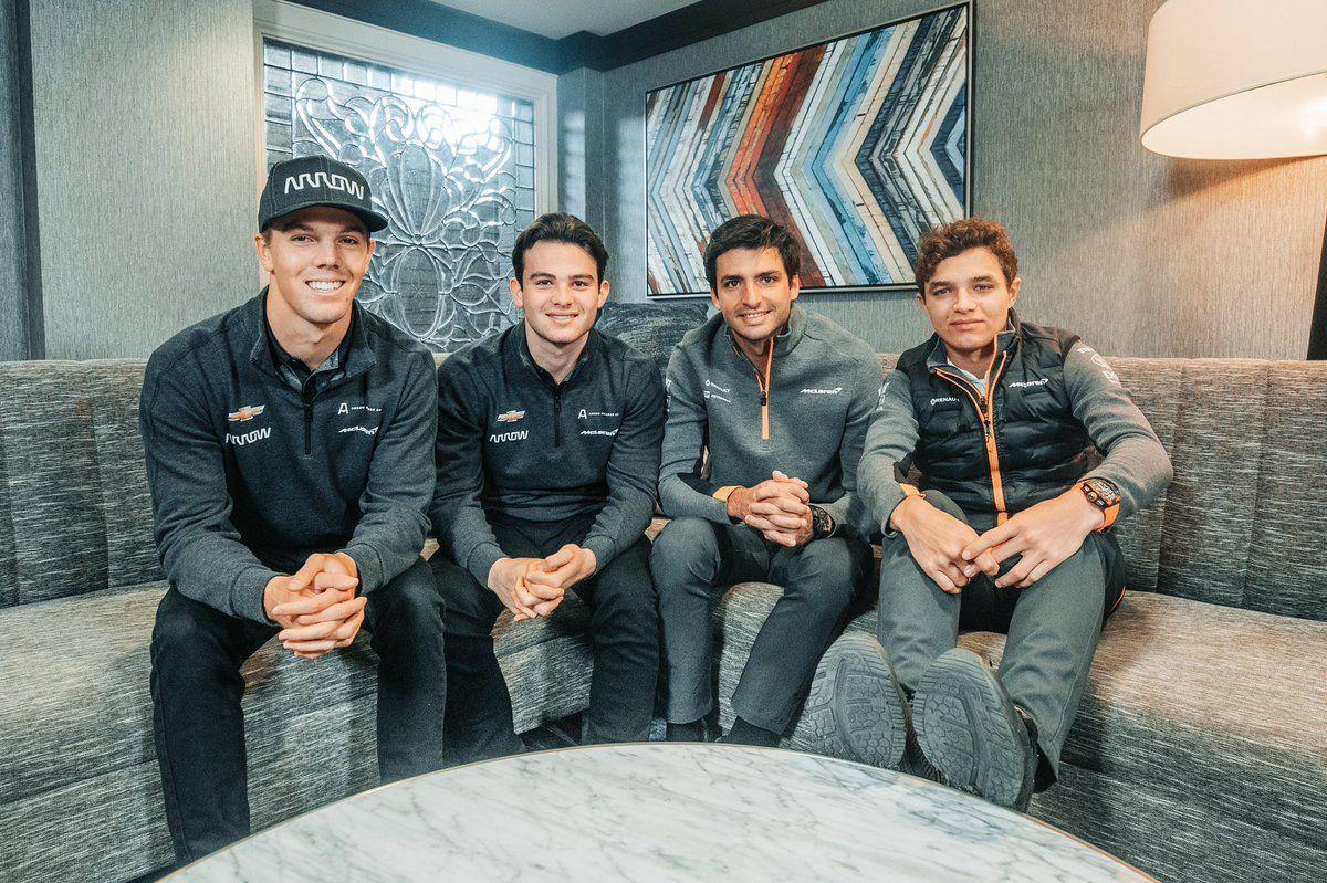 Patricio O'Ward y Oliver Askew podría hacer un test con el McLaren de F1