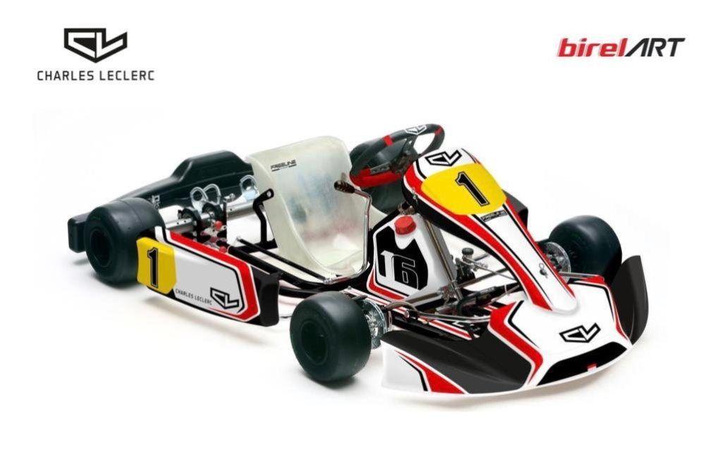 Charles Leclerc lanza su propia marca de karts