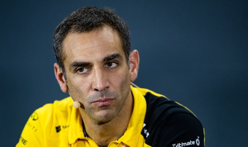 Cyril Abiteboul admite que Renault está apostando todo para 2021
