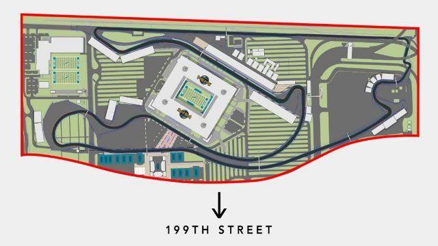 El GP de Miami presenta un diseño distinto de su trazado