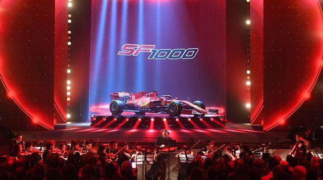Ferrari presenta el nuevo SF1000