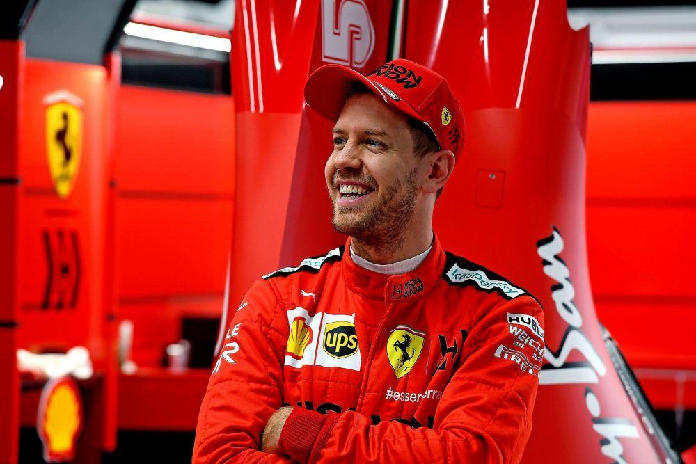 Vettel reconoce que su objetivo para el próximo año es seguir con Ferrari