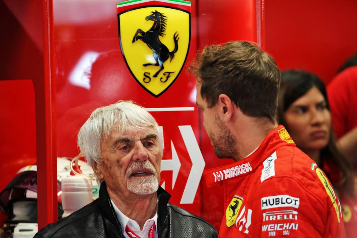 Bernie Ecclestone aconseja a Vettel firmar con un equipo más pequeño